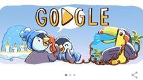 google doodle de sarbatori