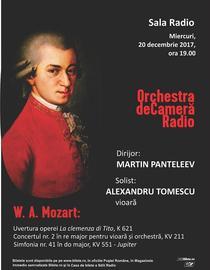 Concert Mozart, 20 decembrie