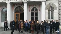 Protestul magistratilor in Cluj