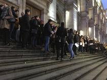 Protest al magistratilor din Bucuresti