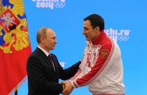 Alexei Voevoda si Vladimir Putin