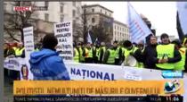 Politistitii protesteaza fata de salarizarea precara