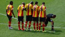 Spray folosit la fotbal
