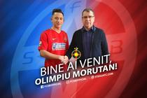 Olimpiu Morutan, noul jucator al FCSB
