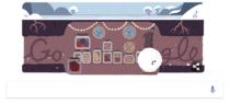 Google Doodle pentru Solstitiul de iarna