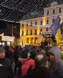 Protest Iasi 23 decembrie