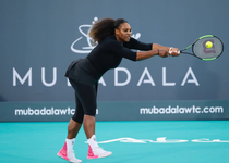 Serena Williams, la Abu Dhabi