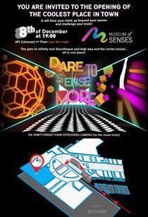 Invitatie la deschiderea Museum of Senses