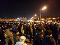 Protest 6 decembrie, Parlament
