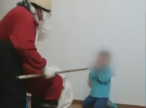 "Copil terorizat de ""Mos Nicolae"""