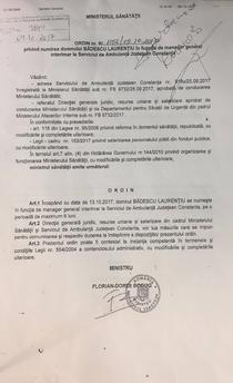 ordin 2 Badescu din 09.10.2017