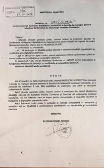Ordin 1 Badescu din 13.04.2017