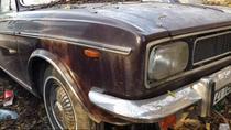 Masina lui Ceausescu, abandonata
