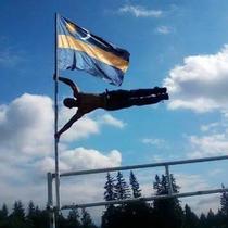 Secui fluturand langa steag, raspuns ironic pentru premierul Tudose