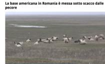 Oile de la Deveselu au fost stire in La Stampa