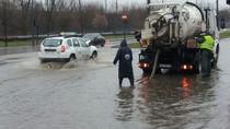 Strazi inundate in Arad