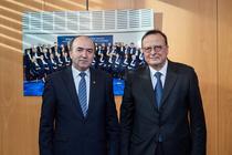 Tudorel Toader si presedintele CEDO, Guido Raimondi
