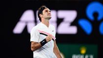 Roger Federer, la AO