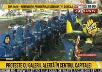 Protestele la Romania TV