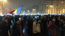 Protest20 ianuarie: s-au aprins luminitele