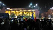 Protestul din Piata Victoriei de pe 24 ianuarie