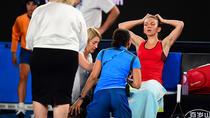 Simona a primit ingrijiri medicale pe durata finalei de la AO