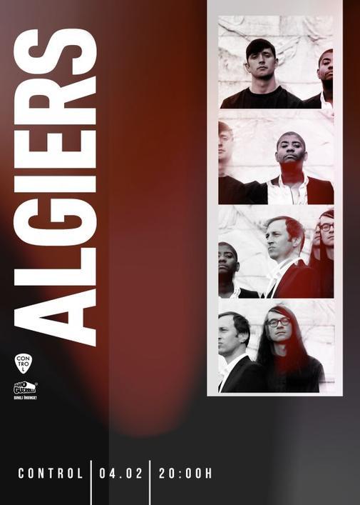 poster Algiers mic