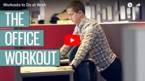 Exercitii fizice la birou