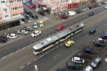 Garduri care delimiteaza linia 21 de tramvai