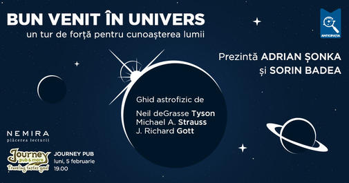 Eveniment Bun venit in Univers