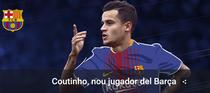 Coutinho, noul jucator al Barcelonei