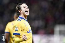 Bernardeschi, gol decisiv pentru Juventus