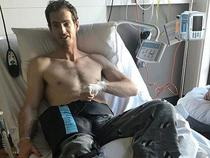 Andy Murray, pe patul de spital