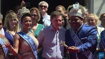 Primarul Marcelo Crivella, la deschiderea Carnavalului de la Rio