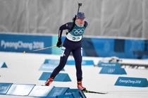 Eva Tofalvi, la PyeongChang