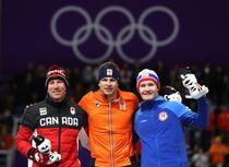 Sven Kramer, campion olimpic la 5.000 de metri la patinaj viteza