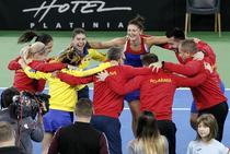 Echipa de FedCup a Romaniei, in barajul pentru promovarea in Grupa Mondiala I