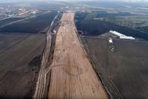 Autostrada Campia Turzii - Tg. Mures (februarie 2018)