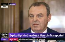 Lucian Sova, in Parlament