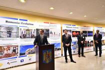 Vernisajul expozitiei de fotografie dedicat Centenarului Marii Uniri, organizat de Agerpres la sediul ONU