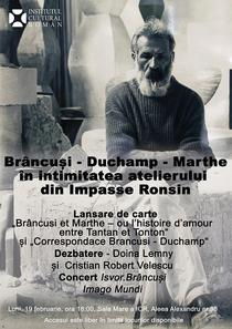 Brancusi - Duchamp - Marthe, in intimitatea atelierului din Impasse Ronsin