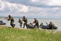 Infanteristii marini din cadrul Fortelor Navale