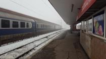 Tren in gara la Brasov
