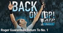 Roger Federer, din nou pe locul intai mondial