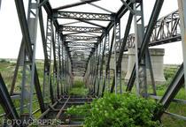 Podul dezafectat de la Gradistea