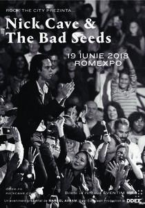 Concert_NickCave&TheBadSeeds_Bucuresti2018
