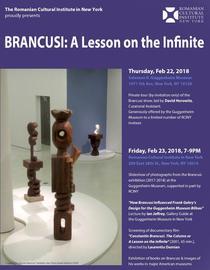 Brancusi - Lectia despre Infinit