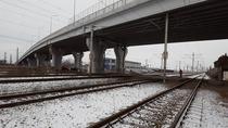 Liniile de cale ferata din zona garii Ploiesti Vest