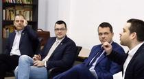 Vlad Alexandrescu, Ovidiu Raetchi, Ionut Mosteanu si Ciprian Ciucu