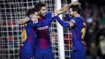 Coutinho, Suarez si Messi au facut spectacol pe Camp Nou